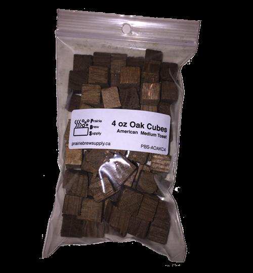Oak Cubes - American Medium (4 oz)-0