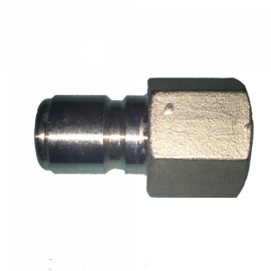 "Stainless Male Quick Disconnect x 1/2"" Female NPT-0"
