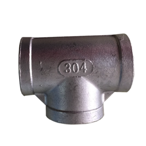 "Stainless Steel Tee - 1/2"" Female NPT-0"