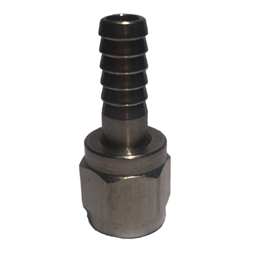 """Stainless Steel Swivel Nut 1/4"""" Barb-0"""