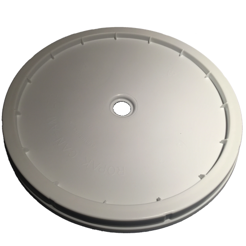 "Primary Fermenter - Lid for 27 l - 1.125"" Hole - with gasket-0"