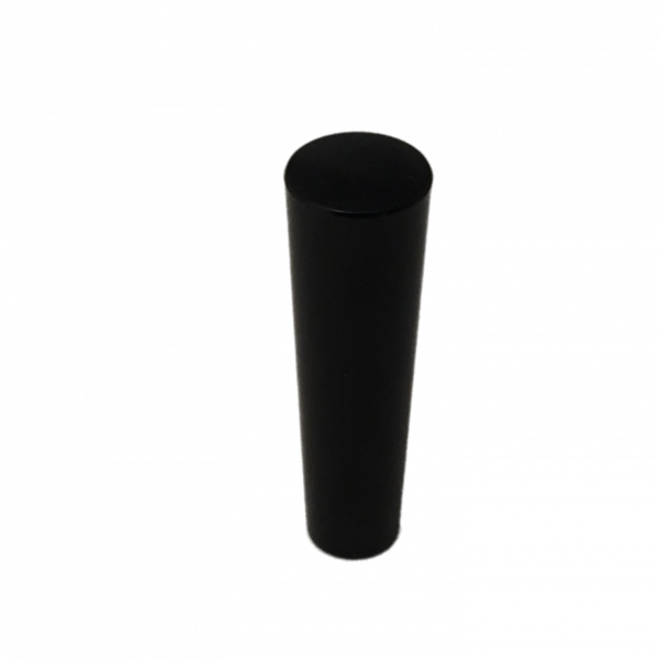"Black Plastic Tap Handle - 2 3/4"" Tall-0"