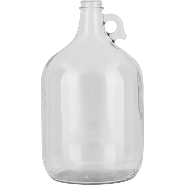 Litre Milk Glass Jars